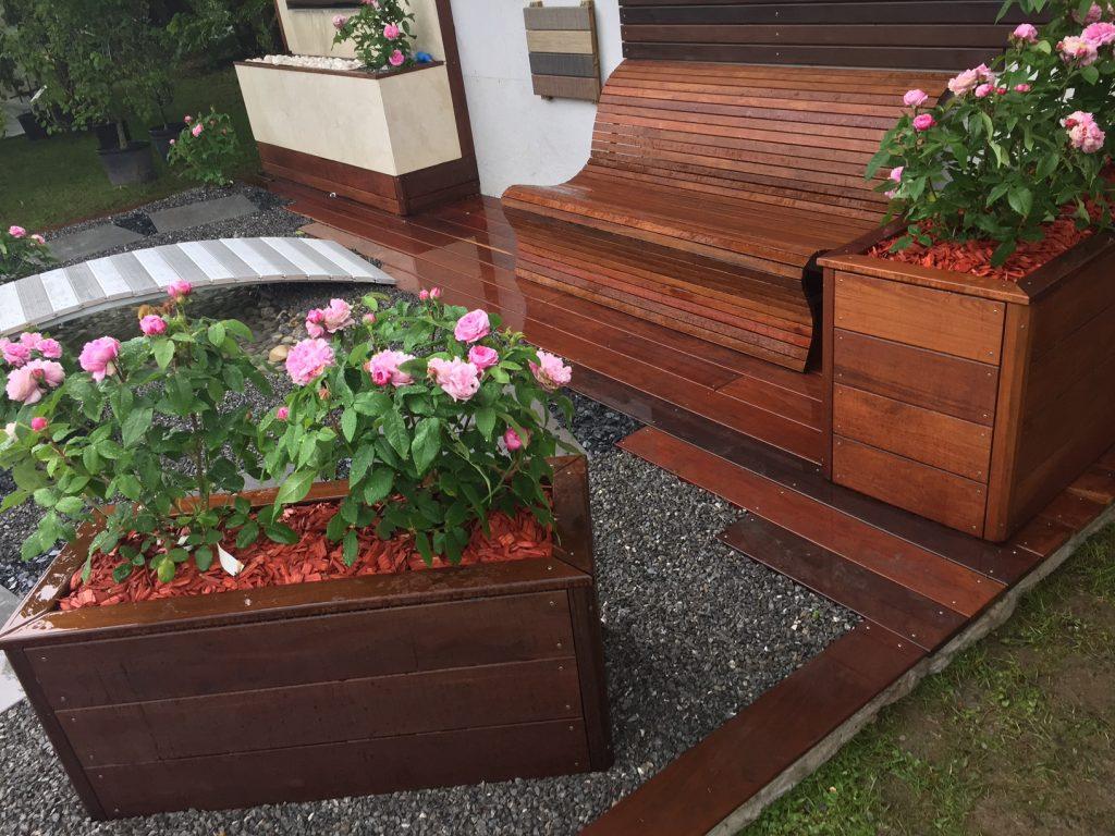 banc terrasse bois fashion designs. Black Bedroom Furniture Sets. Home Design Ideas